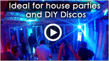 diy disco - the idj at a house party