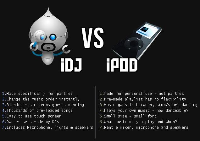 the idj vs ipod